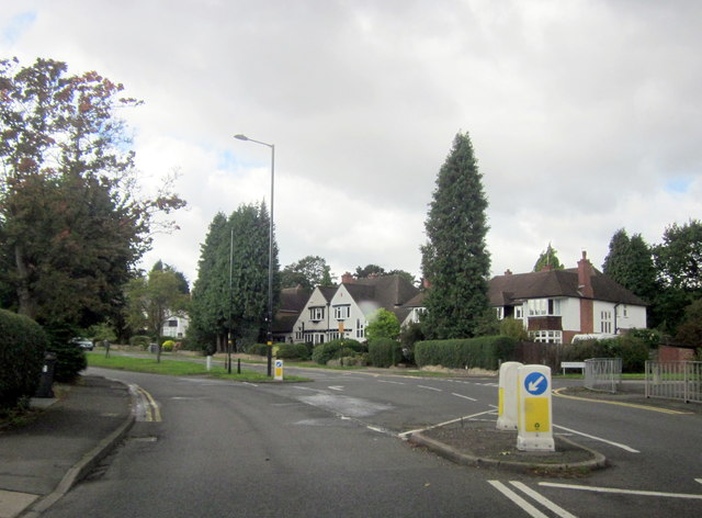 A453 Tamworth Road approaching Sutton Coldfield
