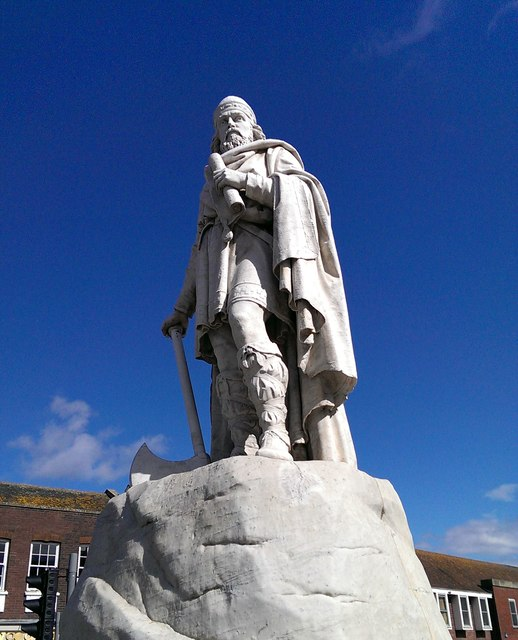 Statue of King Alfred, Market Place, Wantage