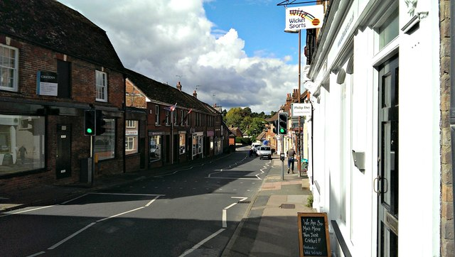North-west along Mill Street, Wantage