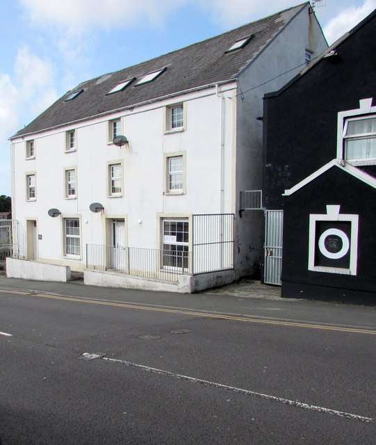 Three-storey houses, Victoria Road, Milford Haven