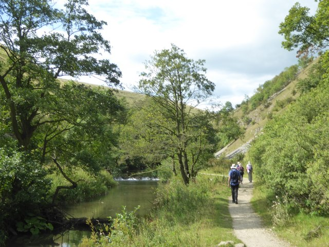 Riverside path in Wolfscote Dale