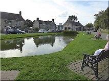 SK1260 : Village pond, Hartington by David Smith