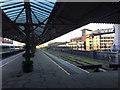SP0786 : Where's the engine gone? Platform 5, Moor Street station, Birmingham by Robin Stott