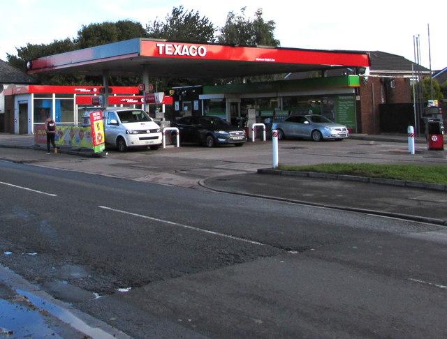 Texaco filling station, Sloper Road, Cardiff