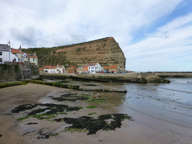 Cowbar Nab at Staithes
