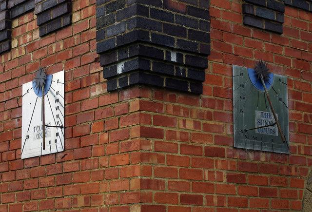 Sundials, Foxton engine house
