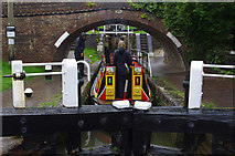 SP6989 : Foxton Bottom Lock by Ian Taylor