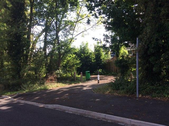 Nickey Lane Entrance
