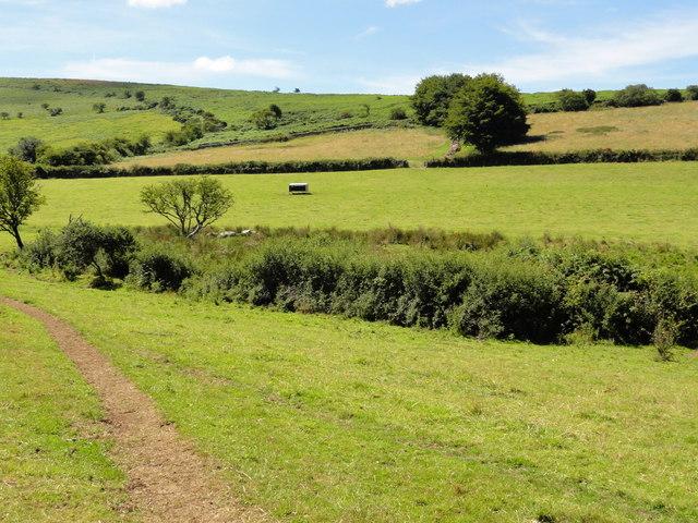 Farmland near Leapra Cross