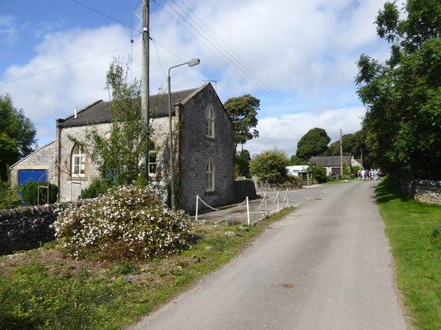 The former chapel at Chapel Farm, Heathcote