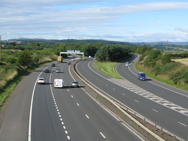 M9 at Junction 8