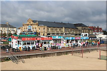 TG5307 : Shop & café at Great Yarmouth Seafront by Oast House Archive