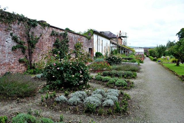Walled garden at Home Farm