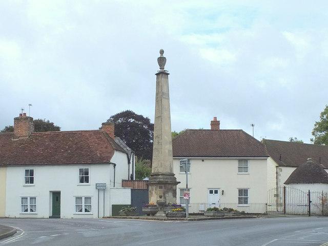Monument on Vicarage Street, Warminster