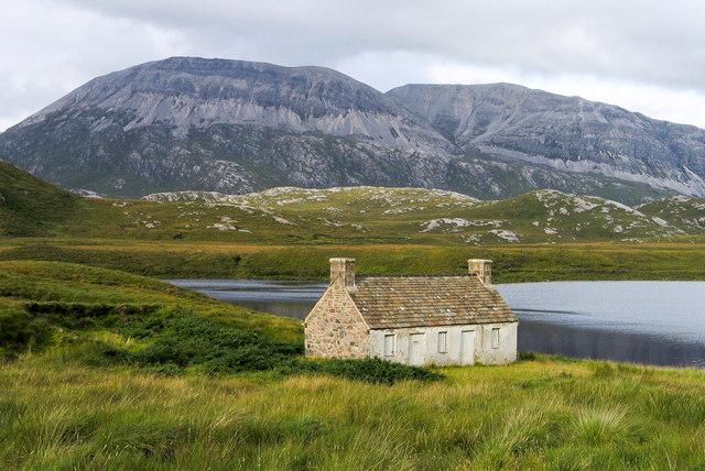 Moorland west of Loch Stack