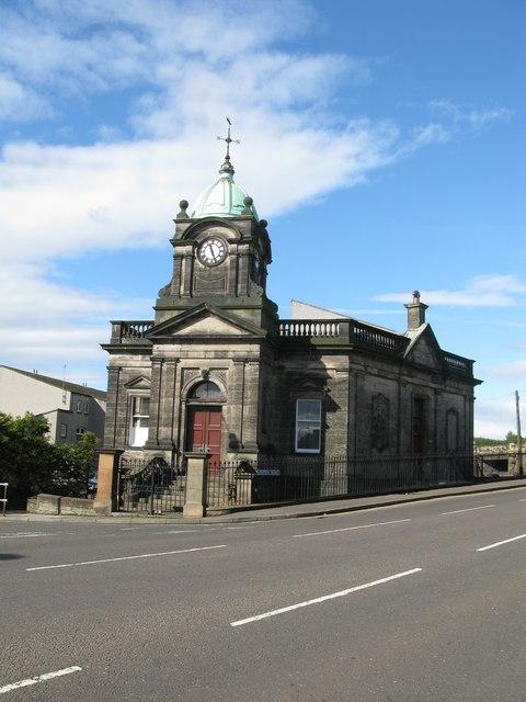 Former Royal Bank of Scotland Building, Grangemouth