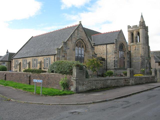 Zetland Parish Church, Grangemouth