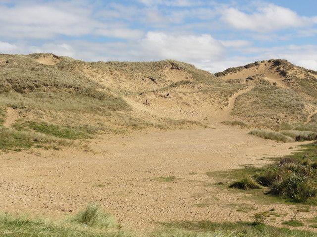 Holywell Bay Sand Dunes