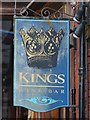 TG5207 : Kings Wine Bar sign by Oast House Archive