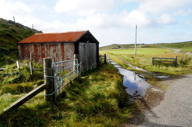 Small shed at Underhoull, Westing