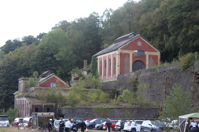 Fanhouse and Winding House, Crumlin Navigation Colliery