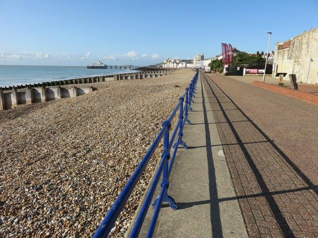 Eastbourne breach and Promenade