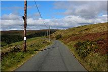 SE0328 : Castle Carr Road (1) by Chris Heaton