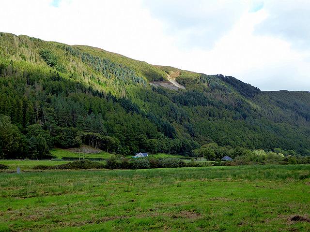 The 'Stag' viewed across Cwm Rheidol