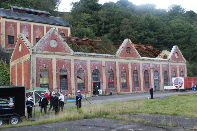 Former power house and winding house, Navigation Colliery