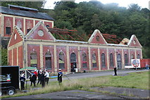ST2198 : Former power house and winding house, Navigation Colliery by M J Roscoe