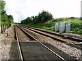 TG1302 : View along the railway line to Norwich by Evelyn Simak