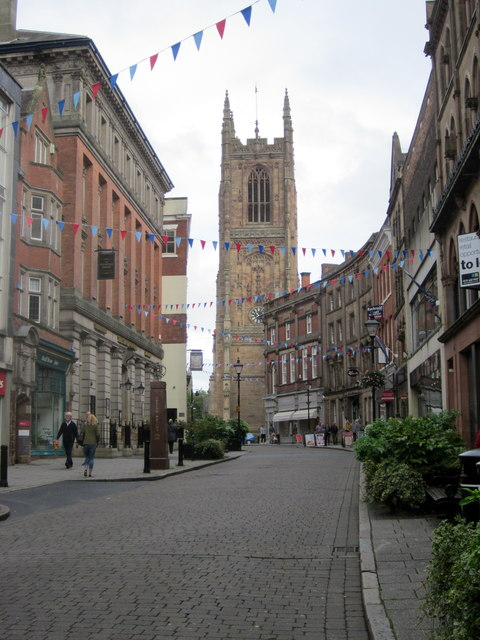 Irongate Derby and Cathedral