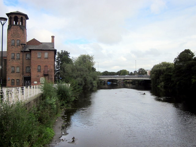 Rivert Derwent Derby by Silk Museum
