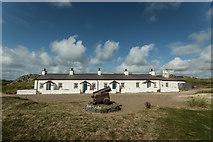 SH3862 : Pilots' cottages on Ynys Llanddwyn by Brian Deegan