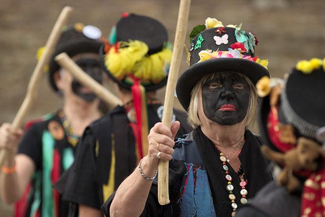 Morris Dancers, Otley Folk Festival