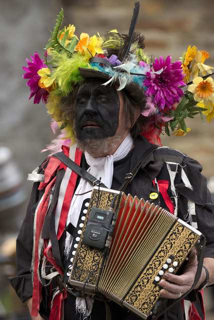 Squeezebox Player, Otley Folk Festival