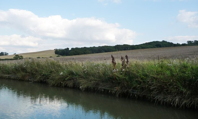 Farmland north of Old Hemplow