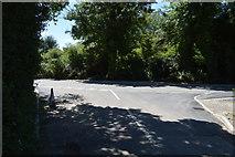 TL5134 : Whiteditch Lane, Bury Water Lane junction by N Chadwick