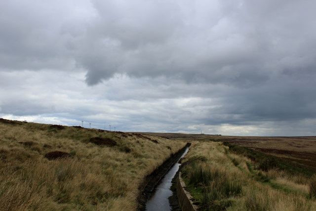 Catchwater Drain above Bare Clough