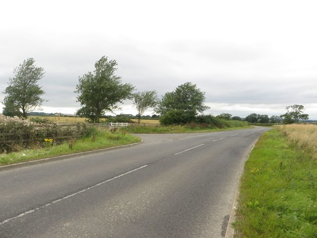 Minor road at East Stobswood