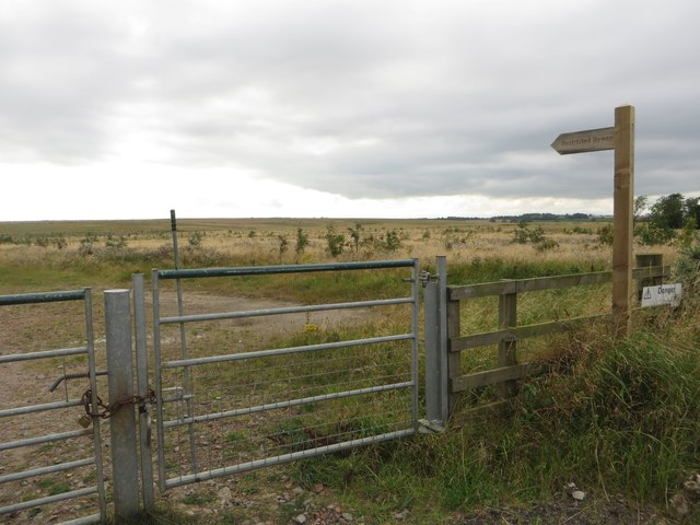 New restricted byway across farmland
