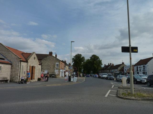 A169 road in Pickering