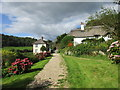 SY1488 : Path through Combe Wood Farm : Week 38