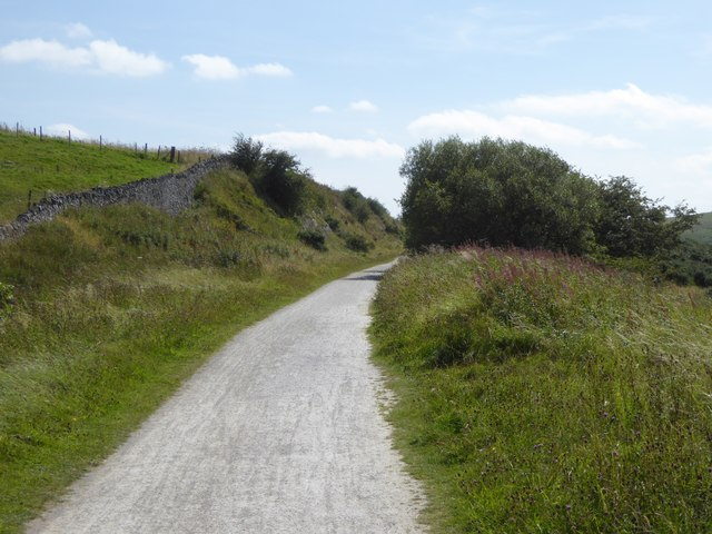 Shallow cutting on the Tissington Trail near Endmoor