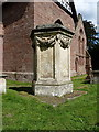 SJ4905 : The Wood memorial, Condover churchyard by Richard Law
