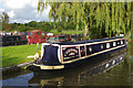 SJ6575 : 'Chrissie' at Anderton Marina by Stephen McKay