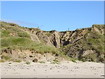 X1477 : Cliff erosion at Whiting Bay by Oliver Dixon