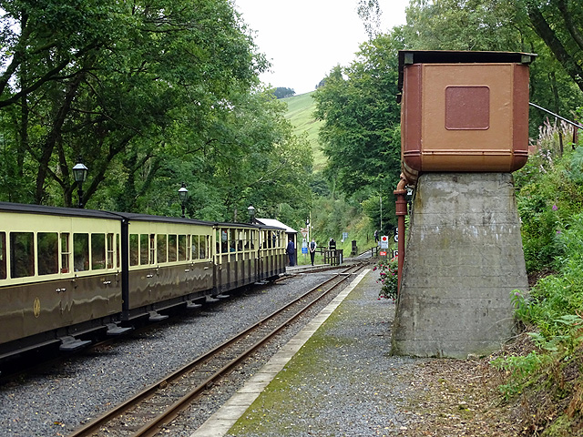 Aberffrwd station, Vale of Rheidol Railway