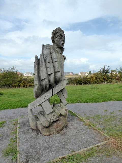 Sculpture of Nelson, Victory Wood