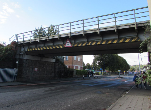 Virgil Street railway bridge, Grangetown, Cardiff